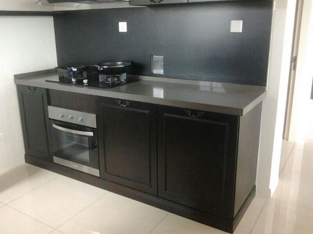 Kitchen Cabinet With Black Granite Table Top 11Pavitra  SEGI2015 06 01T16:19:34+00:00