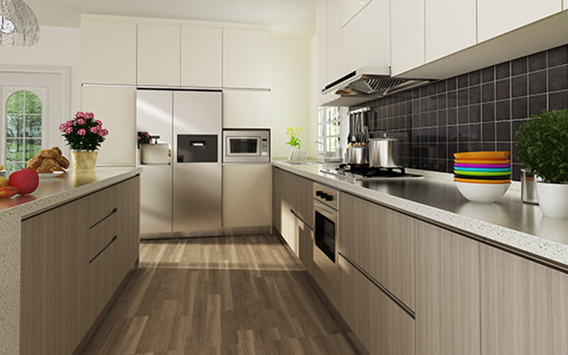 Kitchen cabinet malaysia modern designs solid top sdn bhd for Best kitchen cabinet layout