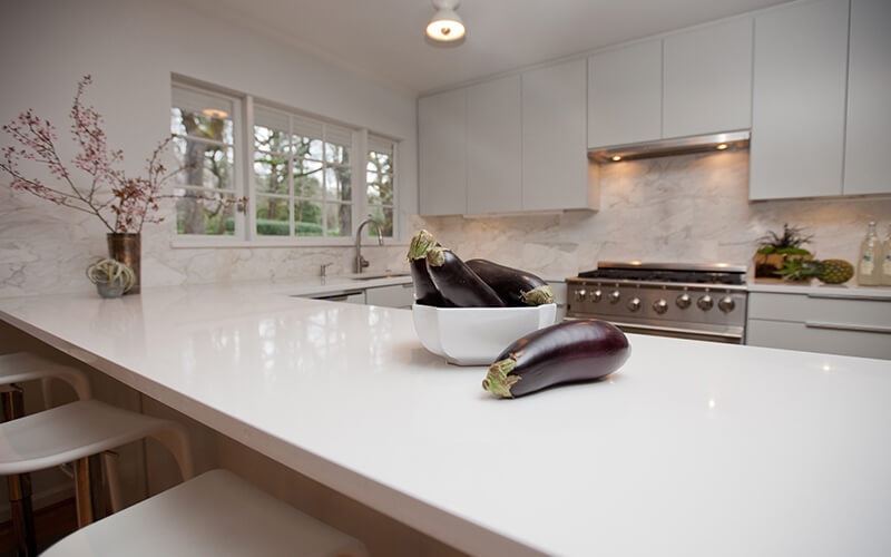 Quartz Kitchen Cabinet Counter Tops